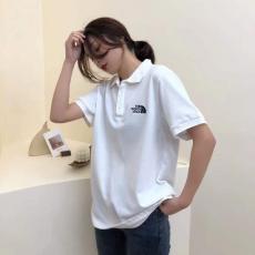 ブランド安全ノースフェイス THE NORTH FACE メンズ/レディース カップル 3色 ポロシャツ 折り襟 Tシャツ 綿 高評価ブランドコピー激安販売専門店