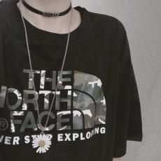ノースフェイス THE NORTH FACE メンズ/レディース 2色 クルーネック Tシャツ 綿 カップル 良品スーパーコピー激安安全後払い販売専門店