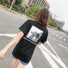 ブランド可能ノースフェイス THE NORTH FACE メンズ/レディース 2色 綿 Tシャツ クルーネック 送料無料最高品質コピー代引き対応