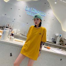 ブランド通販ノースフェイス THE NORTH FACE メンズ/レディース 3色 クルーネック Tシャツ 綿 カップル 新作激安代引き