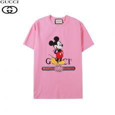 グッチ GUCCI  2色 クルーネック Tシャツ 綿 2020年新作コピーブランド激安販売専門店