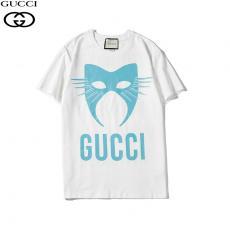 ブランド可能グッチ GUCCI メンズ/レディース 2色 クルーネック Tシャツ 綿 送料無料スーパーコピー通販