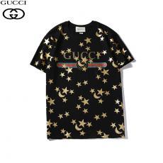 グッチ GUCCI メンズ/レディース 2色 クルーネック Tシャツ 綿 カップル 人気スーパーコピー激安国内発送販売専門店