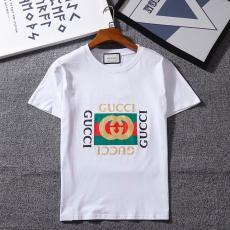 ブランド後払いグッチ GUCCI メンズ/レディース カップル 3色 クルーネック Tシャツ 綿 人気レプリカ販売