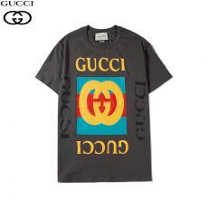 グッチ GUCCI メンズ/レディース クルーネック 綿 Tシャツ 定番人気スーパーコピー安全後払い専門店