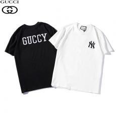 グッチ GUCCI メンズ/レディース 2色 クルーネック Tシャツ 綿 カップル 美品激安 代引き口コミ