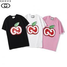 ブランド通販グッチ GUCCI レディース 3色  クルーネック Tシャツ 綿 良品コピー代引き国内発送