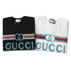ブランド国内グッチ GUCCI メンズ/レディース 2色 クルーネック Tシャツ 綿 カップル 新品同様コピー代引き国内発送安全後払い