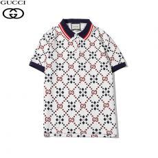 ブランド安全グッチ GUCCI メンズ/レディース 折り襟 ポロシャツ Tシャツ 綿 おすすめ最高品質コピー代引き対応