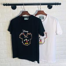 ブランド可能グッチ GUCCI メンズ/レディース カップル 2色 クルーネック Tシャツ 綿 2020年春夏新作レプリカ激安代引き対応