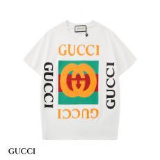 グッチ GUCCI メンズ/レディース クルーネック Tシャツ 綿 送料無料スーパーコピー代引き可能