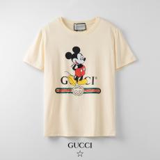 ブランド可能グッチ GUCCI メンズ/レディース クルーネック Tシャツ 綿 新入荷激安代引き口コミ