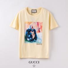 グッチ GUCCI メンズ/レディース 2色 クルーネック Tシャツ 綿 カップル おすすめ口コミ激安代引き