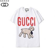 グッチ GUCCI カップル メンズ/レディース 4色 クルーネック Tシャツ 綿 おすすめレプリカ激安代引き対応