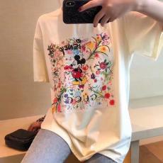 ブランド後払いグッチ GUCCI メンズ/レディース  クルーネック 2色 カップル 綿 Tシャツ 2020年新作スーパーコピー代引き国内発送