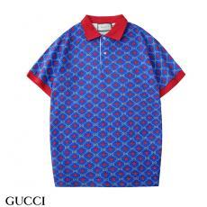 グッチ GUCCI メンズ/レディース 2色 折り襟 ポロシャツ Tシャツ 綿 新入荷コピー口コミ