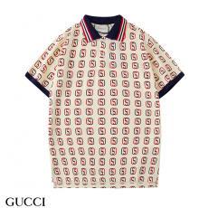 グッチ GUCCI メンズ/レディース 2色 折り襟 ポロシャツ Tシャツ 綿 2020年新作激安代引き口コミ