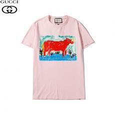 グッチ GUCCI メンズ/レディース 3色 カップル クルーネック Tシャツ 綿 良品スーパーコピーブランド代引き