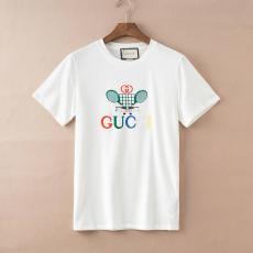 グッチ GUCCI メンズ/レディース 2色 クルーネック Tシャツ 綿 送料無料コピー代引き口コミ