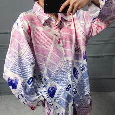 ブランド可能ディオール Dior メンズ/レディース カップル 2色 シャツ 長袖 新品同様偽物代引き対応