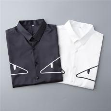 フェンディ FENDI 2色 半袖 シャツ カップル 良品激安代引き口コミ