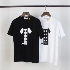 ブランド通販モンクレール MONCLER メンズ/レディース クルーネック Tシャツ 綿 2色 定番人気コピー代引き国内発送安全後払い