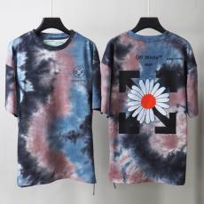オフホワイト Off White メンズ/レディース クルーネック Tシャツ 綿 大き目 カップル 人気最高品質コピー代引き対応