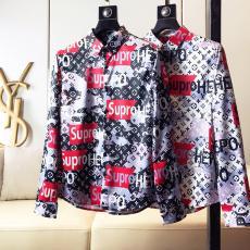 ブランド国内シュプリーム Supreme メンズ/レディース 2色 長袖 シャツ カップル おすすめブランドコピー安全後払い専門店