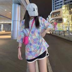 ブランド国内グッチ GUCCI メンズ/レディース クルーネック Tシャツ 綿 カップル 送料無料ブランドコピー専門店
