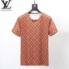 ブランド安全ルイヴィトン LOUIS VUITTON メンズ/レディース 2色 クルーネック 綿 Tシャツ 高評価レプリカ激安代引き対応