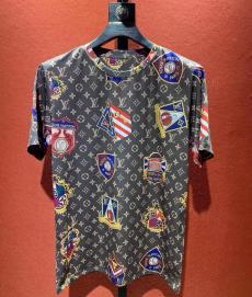 ルイヴィトン LOUIS VUITTON クルーネック Tシャツ 綿 送料無料コピー代引き国内発送安全後払い