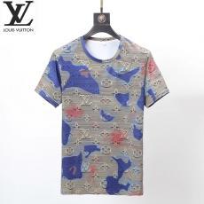ルイヴィトン LOUIS VUITTON メンズ/レディース クルーネック Tシャツ 綿 新品同様ブランド通販口コミ
