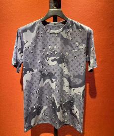 ルイヴィトン LOUIS VUITTON メンズ/レディース クルーネック Tシャツ 綿 定番人気スーパーコピーブランド代引き