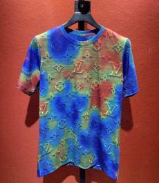 ルイヴィトン LOUIS VUITTON メンズ/レディース クルーネック Tシャツ 綿 新品同様スーパーコピー代引き