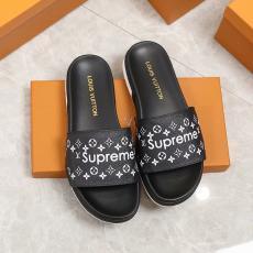 ルイヴィトン LOUIS VUITTON  3色 靴 新品同様  メンズ/レディースフリップ・フロップ カップル最高品質コピー代引き対応