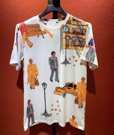 ブランド通販ルイヴィトン LOUIS VUITTON メンズ/レディース クルーネック Tシャツ 綿 良品レプリカ販売