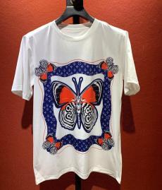 ルイヴィトン LOUIS VUITTON クルーネック 2色 綿 Tシャツ 定番人気ブランドコピー安全後払い