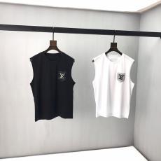 ルイヴィトン LOUIS VUITTON メンズ/レディース ベスト Tシャツ 2色 カップル 新品同様最高品質コピー代引き対応