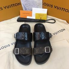 ブランド販売ルイヴィトン LOUIS VUITTON メンズ 2色 サンダルフリップ・フロップ 人気レプリカ口コミ販売