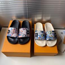 ルイヴィトン LOUIS VUITTON メンズ/レディース カップル 2色 サンダル スリッパ 人気激安販売靴専門店