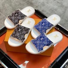ルイヴィトン LOUIS VUITTON メンズ/レディース カップル 2色 サンダル スリッパ 新作靴レプリカ販売