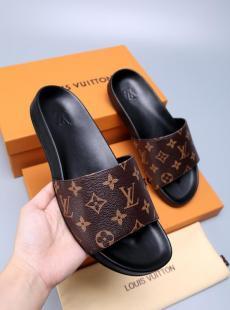 ルイヴィトン LOUIS VUITTON メンズ/レディース 3色 サンダル スリッパ 良品コピー靴 販売