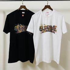 シュプリーム Supreme メンズ/レディース 2色 クルーネック 綿 Tシャツ 新入荷最高品質コピー