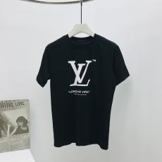 ルイヴィトン LOUIS VUITTON メンズ/レディース カップル 2色 クルーネック Tシャツ 綿 送料無料ブランドコピー代引き