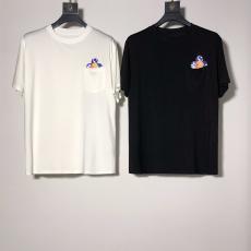 ルイヴィトン LOUIS VUITTON カップル クルーネック 綿 Tシャツ 2色 2020年新作ブランド通販口コミ