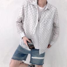 ブランド後払いルイヴィトン LOUIS VUITTON メンズ/レディース 長袖 シャツ 2色  美品レプリカ販売