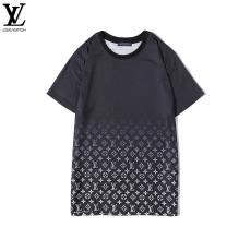 ルイヴィトン LOUIS VUITTON メンズ/レディース 2色 Tシャツ 綿 クルーネック カップル おすすめ 人気最高品質コピー代引き対応