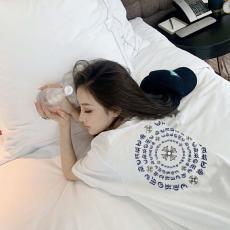 クロムハーツ Chrome Hearts メンズ/レディース カップル 2色 クルーネック 綿 Tシャツ 送料無料ブランド通販