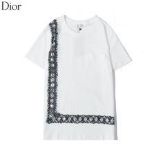 ディオール Dior メンズ/レディース 2色 クルーネック 綿 Tシャツ 新作格安コピー口コミ