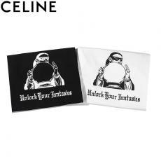 セリーヌ CELINE メンズ/レディース 2色 クルーネック Tシャツ 綿 カップル 2020年新作スーパーコピー国内発送専門店